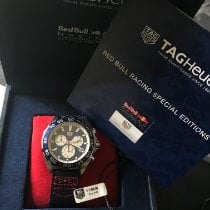 TAG Heuer pre-owned Quartz 43mm Blue Sapphire crystal 20 ATM