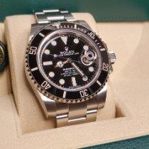 Rolex Submariner Date Steel Black No numerals