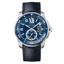 Cartier Calibre de Cartier Diver Steel 42mm Blue Roman numerals United States of America, New York, New York