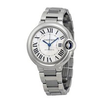 Cartier Ballon Bleu 33mm Steel 33mm Silver Roman numerals United States of America, New York, New York