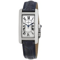 Cartier Tank Américaine Steel 41.6mm Silver Roman numerals United States of America, New York, New York