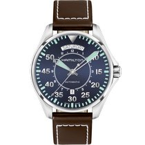 Hamilton Khaki Pilot Day Date new Automatic Watch with original box and original papers H64615545