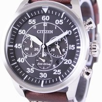 Citizen Steel 45mm Quartz CA4210-16E new