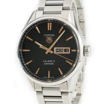 TAG Heuer Carrera Calibre 5 Zeljezo 41mm Crn