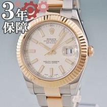 Rolex Datejust II 116333G Καλό Χρυσός / Ατσάλι 41mm Αυτόματη