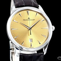 Jaeger-LeCoultre Master Ultra Thin Date Acier 40mm Champagne
