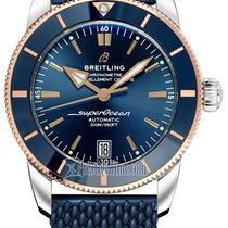 Breitling Superocean Héritage 42 Gold/Steel 42mm Blue United States of America, New York, Airmont