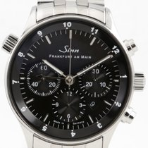 Sinn Steel 41.5mm Black