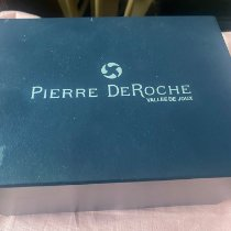 Pierre DeRoche Manual winding Grc10002acio-01cro new