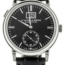 A. Lange & Söhne pre-owned Automatic 40mm Black Sapphire crystal 1 ATM