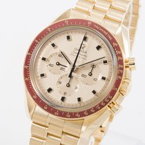 Omega 310.60.42.50.99.001 Yellow gold 2020 Speedmaster 42mm new