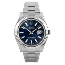 Rolex Datejust II Acero 41mm Azul