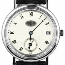 Breguet Classique Yellow gold 34mm Silver Roman numerals United States of America, New York, Lynbrook