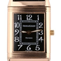 Jaeger-LeCoultre Reverso Classique Rose gold 23mm Black Arabic numerals United States of America, New York, Lynbrook