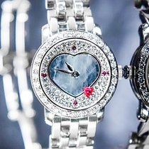 Blancpain Women White gold 22mm Mother of pearl No numerals
