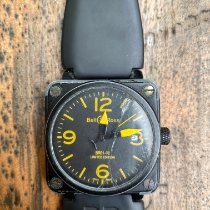 Bell & Ross BR 01-92 Steel 46mm Yellow Arabic numerals