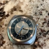 Omega Memomatic Steel 40mm Blue No numerals United States of America, Wisconsin, lake Geneva