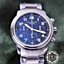 Blancpain Léman Fly-Back 2185F-1130-71 Very good Steel 38mm Automatic