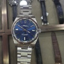 Rolex Oyster Perpetual 39 Steel 39mm Blue No numerals United States of America, California, Sunnyvale