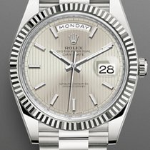 Rolex Day-Date 40 228239 New White gold 40mm Automatic