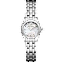 Hamilton Jazzmaster Lady H32261197 New Steel 27mm Quartz