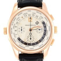 Girard Perregaux Rose gold Automatic White 43mm pre-owned