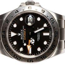 Rolex Explorer II Steel 42,00mm Black No numerals