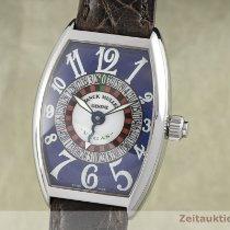 Franck Muller Vegas Acero 32mm Azul