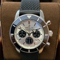 Breitling Superocean Heritage Chronograph Steel 44mm Silver