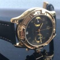 Poljot Rare manual winding chronograph, famous caliber 3133 (Poljot) Very good Gold/Steel 42mm Manual winding
