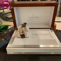 Carl F. Bucherer Manero Rose gold 41,8mm Silver No numerals