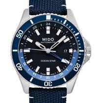 Mido Ocean Star Stal 44.00mm Czarny