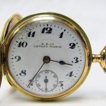 Ernest Borel Κίτρινο χρυσό 32mm Χειροκίνητη εκκαθάριση μεταχειρισμένο