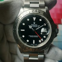 勞力士 Explorer II 鋼 40mm 黑色 無數字 香港, See my Profile for more details