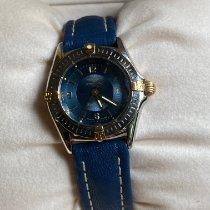 Breitling Callistino Acero y oro 28mm Azul Arábigos