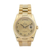 Rolex 118238 Or jaune Day-Date 36 36mm occasion