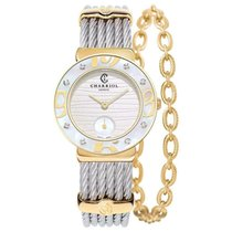 Charriol St-Tropez Steel 30mm Mother of pearl Roman numerals United States of America, Florida, Coral Gables
