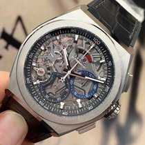 Zenith Defy El Primero Titanium 44mm Transparent No numerals United States of America, California, Sunnyvale