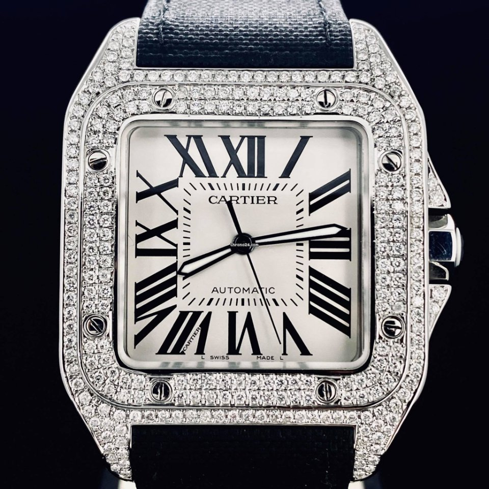 Cartier Santos 100 2656 2014 новые