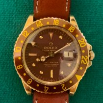 Rolex 1675 Yellow gold 1969 GMT-Master 40mm pre-owned