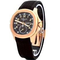 Patek Philippe Rose gold Automatic Brown Arabic numerals 40.8mm pre-owned Aquanaut
