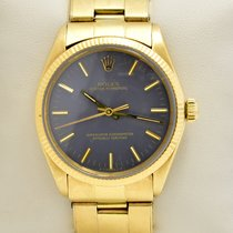 Rolex Oyster Perpetual 34 1005 Very good Yellow gold 34mm Automatic