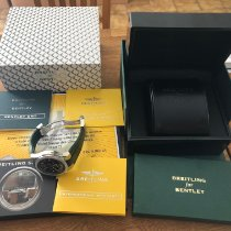 Breitling Bentley GMT A47362 Very good Steel 49mm Automatic