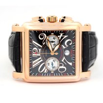 Franck Muller Conquistador Cortez 10000 K CC Very good Rose gold 45mm Automatic