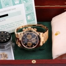 Rolex Daytona Yellow gold 40mm Black No numerals United States of America, California, Beverly Hills