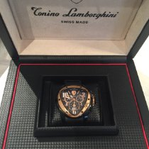 Tonino Lamborghini Steel 43mm Automatic Spyder pre-owned