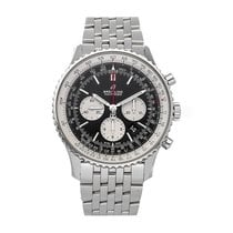 Breitling Navitimer 01 (46 MM) pre-owned 46mm Black Chronograph Date Tachymeter Fold clasp