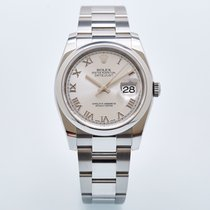Rolex Datejust 126200-0008 Πολύ καλό Ατσάλι 36mm Αυτόματη