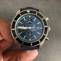 Breitling Superocean Héritage Chronograph Acier 46mm Noir Sans chiffres France, Guyancourt