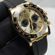 Rolex Daytona Yellow gold 40mm Champagne No numerals